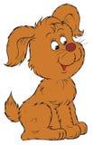 Cartoon dog stock illustration
