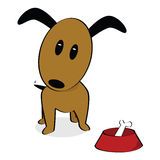 Cartoon dog Royalty Free Stock Images