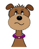 Cartoon dog royalty free illustration