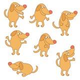 Cartoon dog animal Stock Photo
