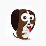 Cartoon Dog. Cartoon of a cute dog Royalty Free Stock Photography