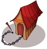 Cartoon Dog House. vector illustration