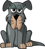 Cartoon Dog isolated illustration Royalty Free Stock Photos