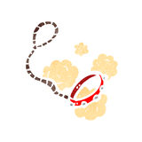 Cartoon dog lead Royalty Free Stock Images