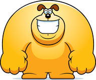 Cartoon Dog Smiling Royalty Free Stock Images