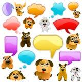 Cartoon dogs Royalty Free Stock Photography