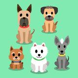Cartoon dogs Royalty Free Stock Image