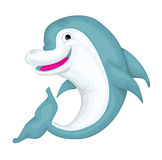 Cartoon dolphin Stock Photo