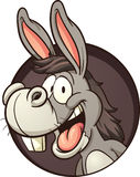 Cartoon donkey Royalty Free Stock Photos