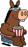 Cartoon Donkey 3D Movies Stock Photo