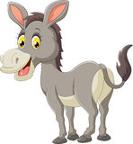 Cartoon donkey happy Royalty Free Stock Photography