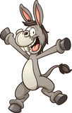 Cartoon donkey Royalty Free Stock Photography