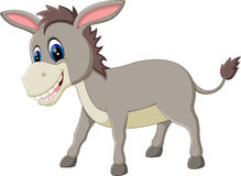 cartoon donkey Stock Images