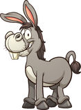 Cartoon donkey Royalty Free Stock Image
