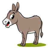 Cartoon donkey Royalty Free Stock Images