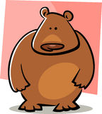 Cartoon doodle of bear Stock Images