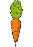 Cartoon doodle carrot Stock Photo