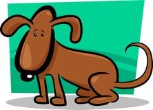 Cartoon doodle of cute dog Stock Photography
