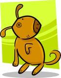Cartoon doodle of cute dog Stock Photo