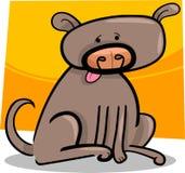 Cartoon doodle of dog Stock Image