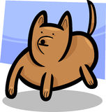 Cartoon doodle of funny dog Royalty Free Stock Photo
