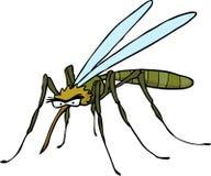 Cartoon doodle mosquito Stock Photos