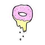 Cartoon doughnut Royalty Free Stock Photo