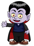 Cartoon dracula Stock Photos
