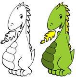Cartoon Dragon Royalty Free Stock Photo