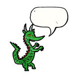 cartoon dragon Royalty Free Stock Photography