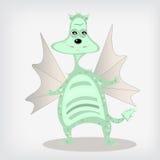 Cartoon dragon Royalty Free Stock Photos