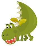 Cartoon dragon Stock Photography