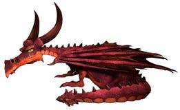 Cartoon dragon Stock Images