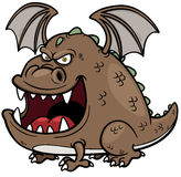 Cartoon dragon Stock Image