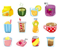 Cartoon drink icon Royalty Free Stock Image