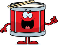 Cartoon Drum Idea Stock Images