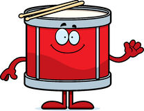 Cartoon Drum Waving Stock Photography