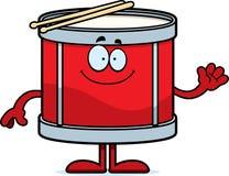 Cartoon Drum Waving Stock Photography