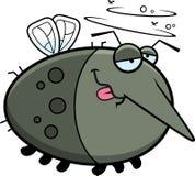 Cartoon Drunk Mosquito Stock Photos