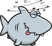 Cartoon Drunk Shark Royalty Free Stock Photography