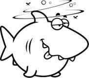 Cartoon Drunk Shark Stock Photos