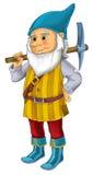 Cartoon dwarf  Royalty Free Stock Photo
