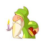 Cartoon dwarf illustration Royalty Free Stock Photos