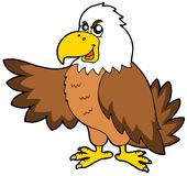 Cartoon eagle Royalty Free Stock Photo