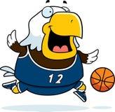 Cartoon Eagle Basketball Royalty Free Stock Photography