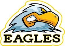 Cartoon Eagle Mascot Royalty Free Stock Photos
