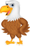 Cartoon eagle posing Stock Photography