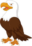 Cartoon eagle posing Royalty Free Stock Images