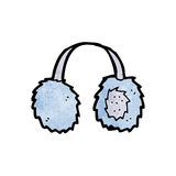 Cartoon ear muffs Stock Photos