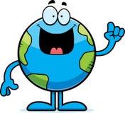 Cartoon Earth Idea Royalty Free Stock Photo
